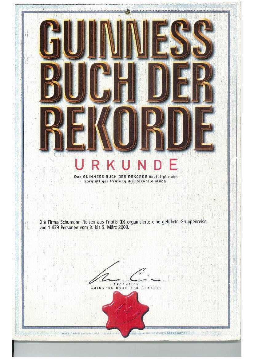 Chronik - Schumann-Reisen